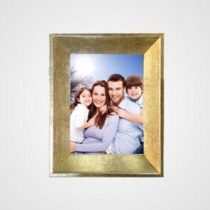 Porta Retrato 20x25m C/ Vidro 2mm e Moldura na cor Prata