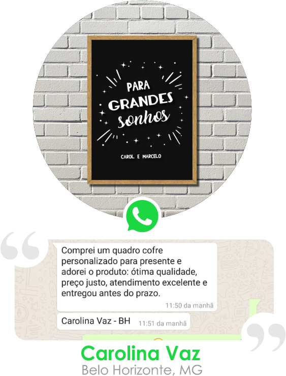 Depoimento Carolina Vaz - BH, MG
